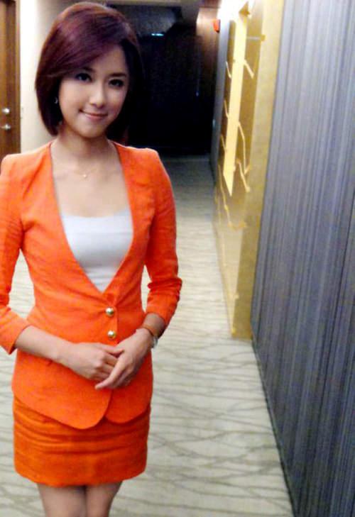 台湾美女主播林莉婷