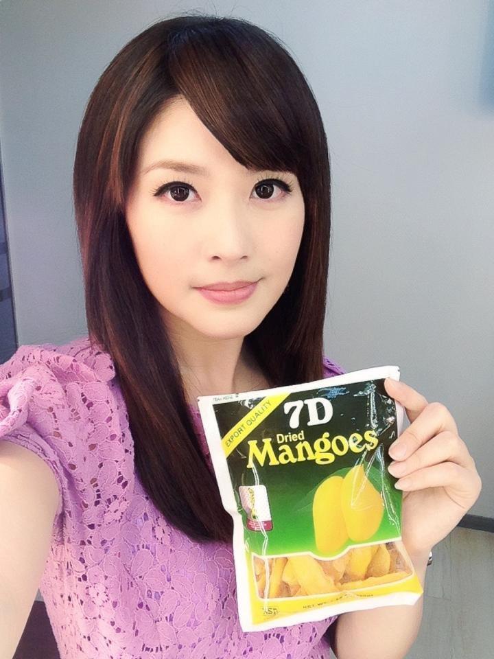 台湾美女主播陈海茵