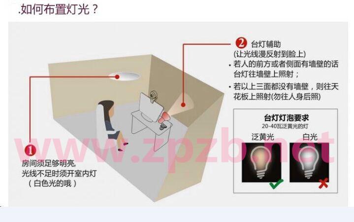 主播房间布置方法三:照明分配